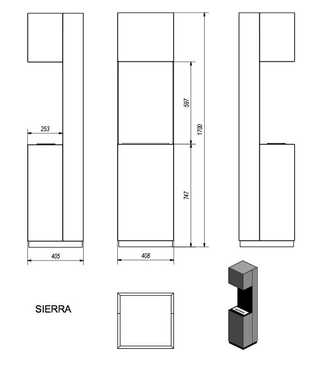 Биокамин SIERRA TUV Certificate