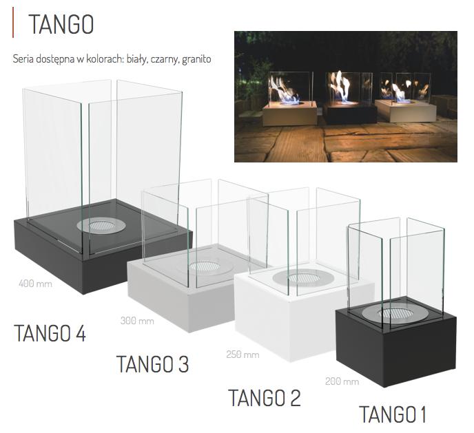 Биокамин TANGO-3 черный TUV Certificate