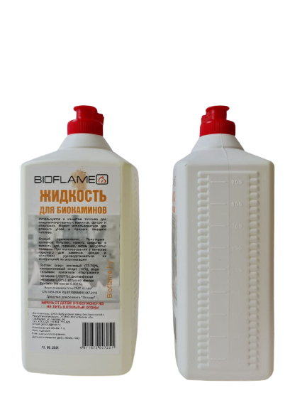Жидкость для биокаминов BIOFLAME (биоэтанол)